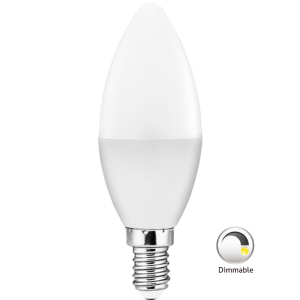 Dimmable LED Candle Bulb
