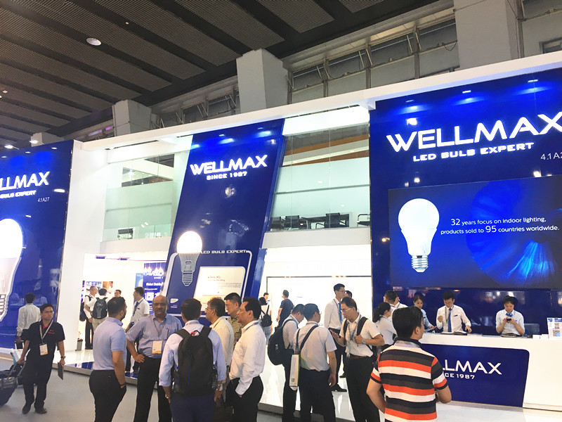 """""""Bulbized"""" LED Panel Downlight of WELLMAX Become a Rising Star of GILE 2019"""
