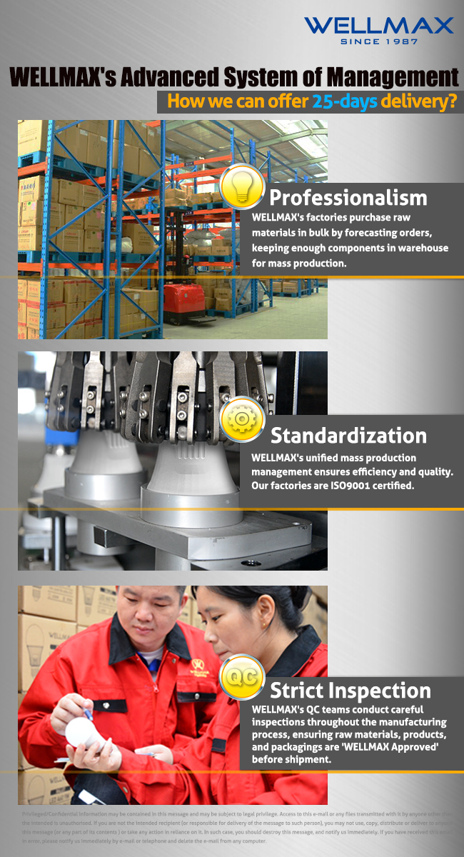 WELLMAX LED factory-TOP LED manufacturer