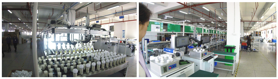 WELLMAX's ISO certified LED factory