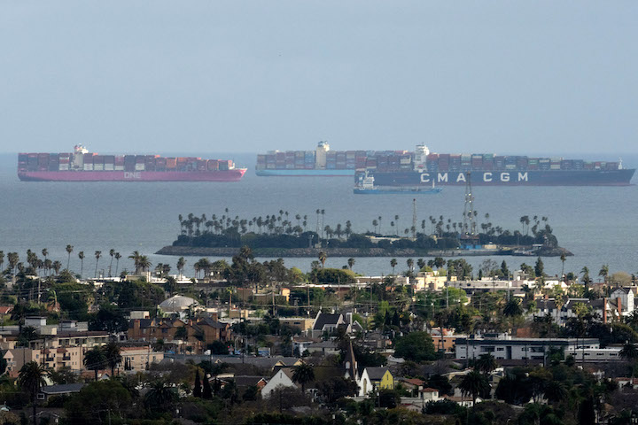 California Ports As Shipping Snarls Force