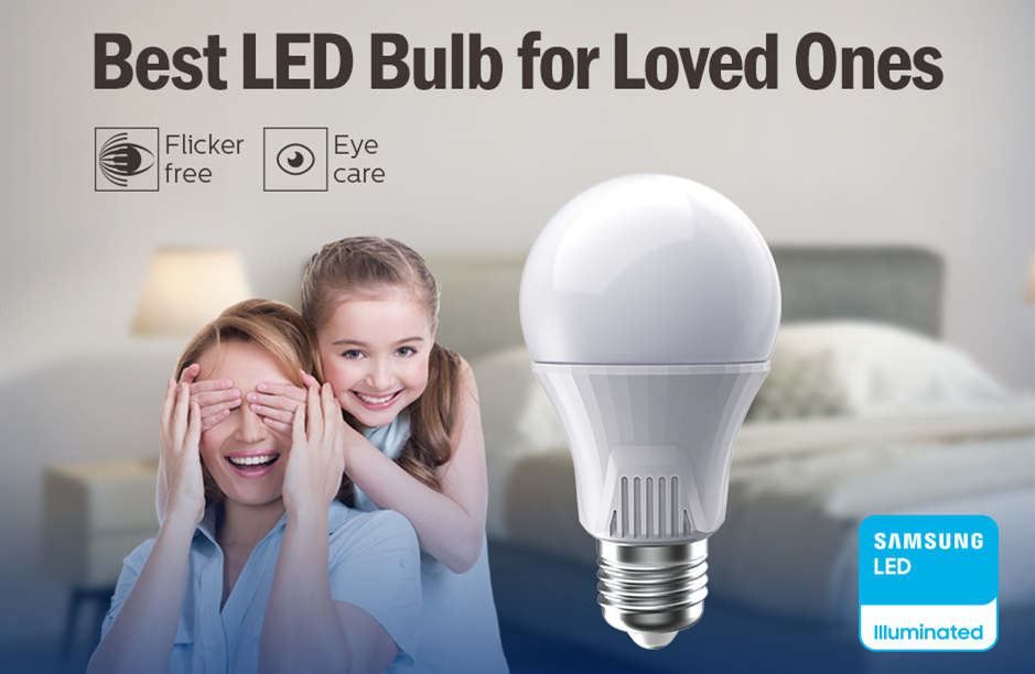 Beautiful & Eyecare! The Best LED Bulb for Loved Ones